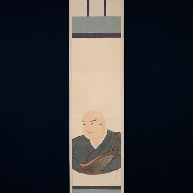 日蓮聖人絵像